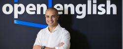 Open English hizo millonario a Andrés Moreno