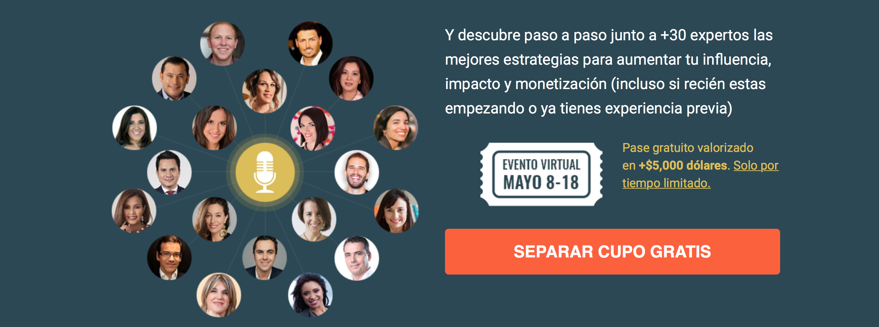 Te Invito a Mi Próximo Evento Virtual Influye. Impacta. Monetiza 2017